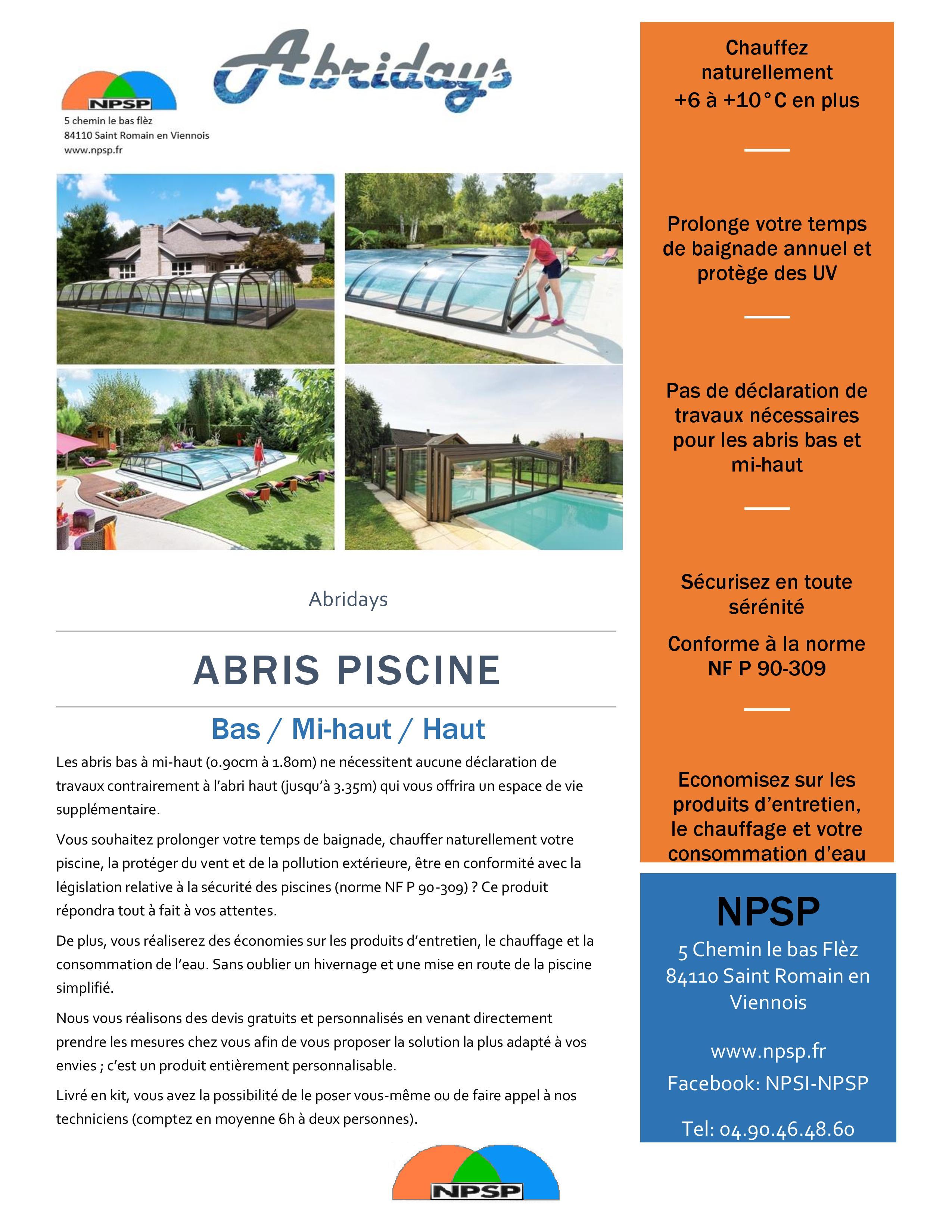 Npsp sp cialiste piscines et spas pr s de vaison la for Specialiste piscine